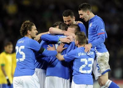Brasile-Italia 2-2 highlights