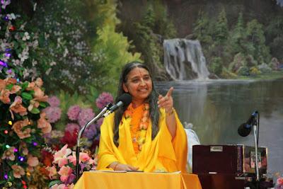 Thanksgiving retreat with Siddheshvari Devi at Radha Madhav Dham 10
