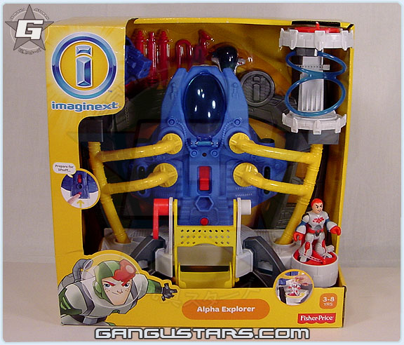 Imaginext Alpha Explorer aliens space men figures Fisher-Price imaginext mattel toys イマジネックスト おもちゃ