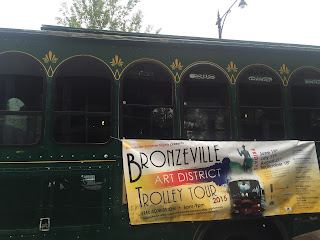 Bronzeville Art District Trolley