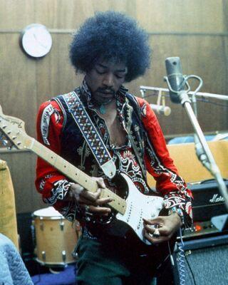 A Guitarra Favorita de Hendrix