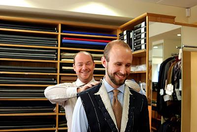 Choppin & Lodge cotton suit