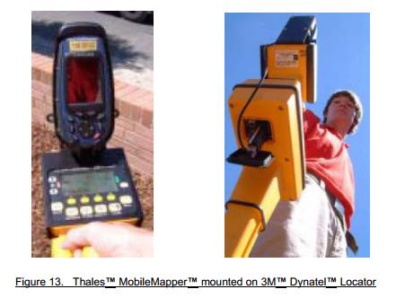 Thales™ MobileMapper™ / Dynatel™ Hookup