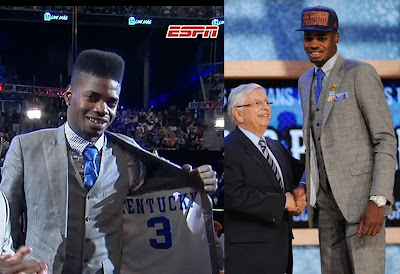 Nerlens Noel at the 2013 NBA Draft