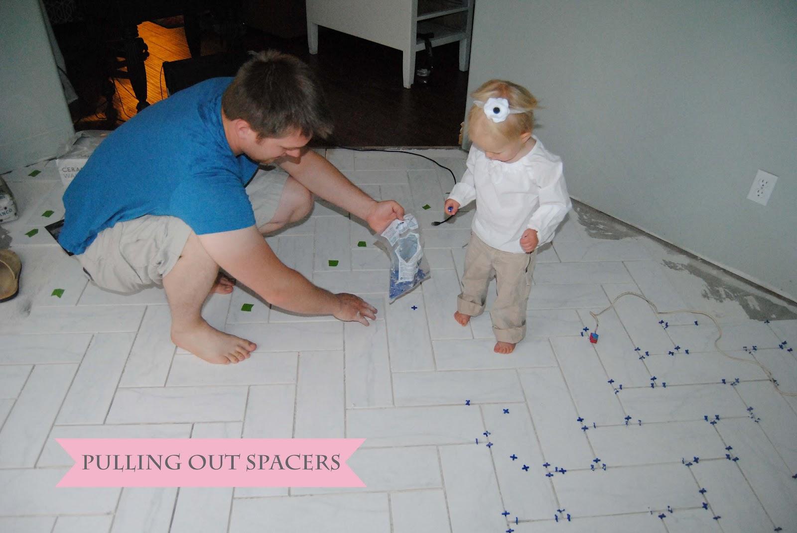 Visual eye candy how to tile a herringbone floor part i - How To Tile A Herringbone Floor Part Ii