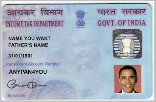 Fake PAN Card