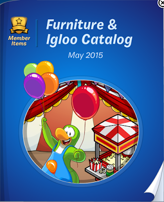 Club Penguin Furniture & Igloo Catalog May 2015