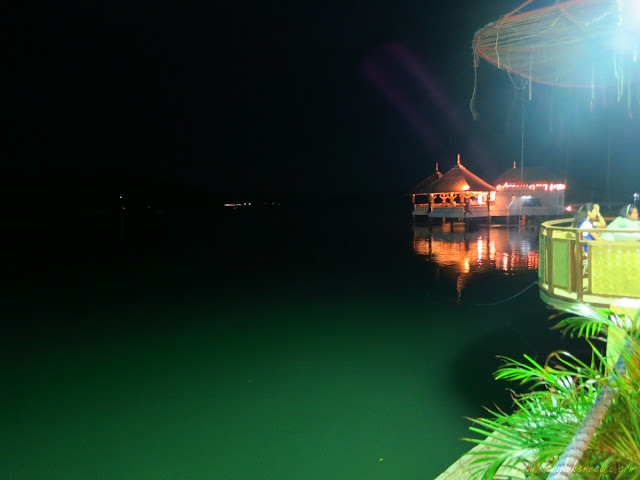 Sea Dive Resort at Night