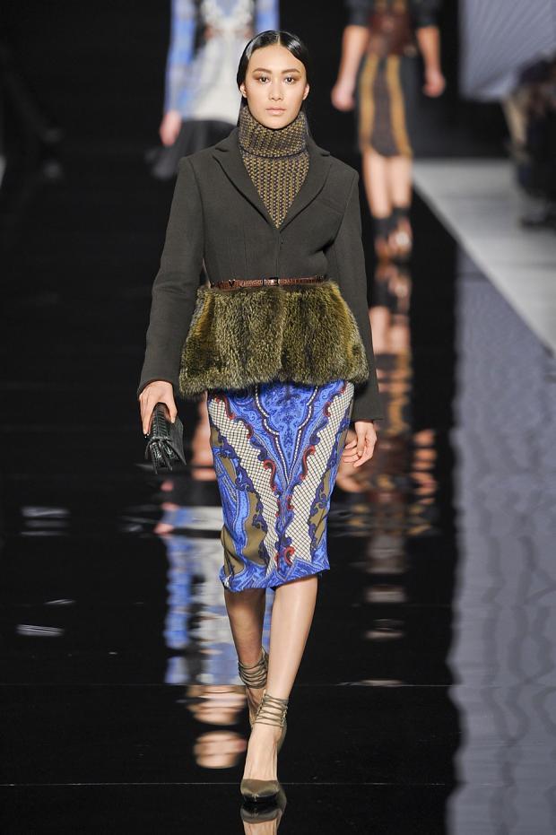 Runway : Etro Fall/Winter 2012-2013 Milan Fashion Week ...