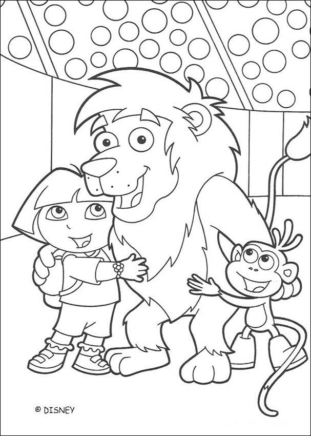 Dora 3 amigos