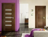 Drzwi wewnętrzne Pol-skone Sempre Duo Merbau