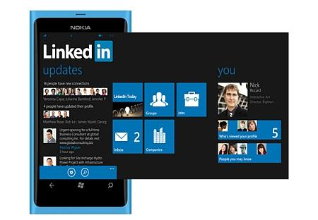 LinkedIn Launches Windows Phone Application