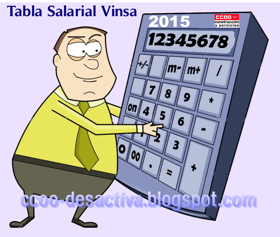 Tabla Salarial Vinsa 2015