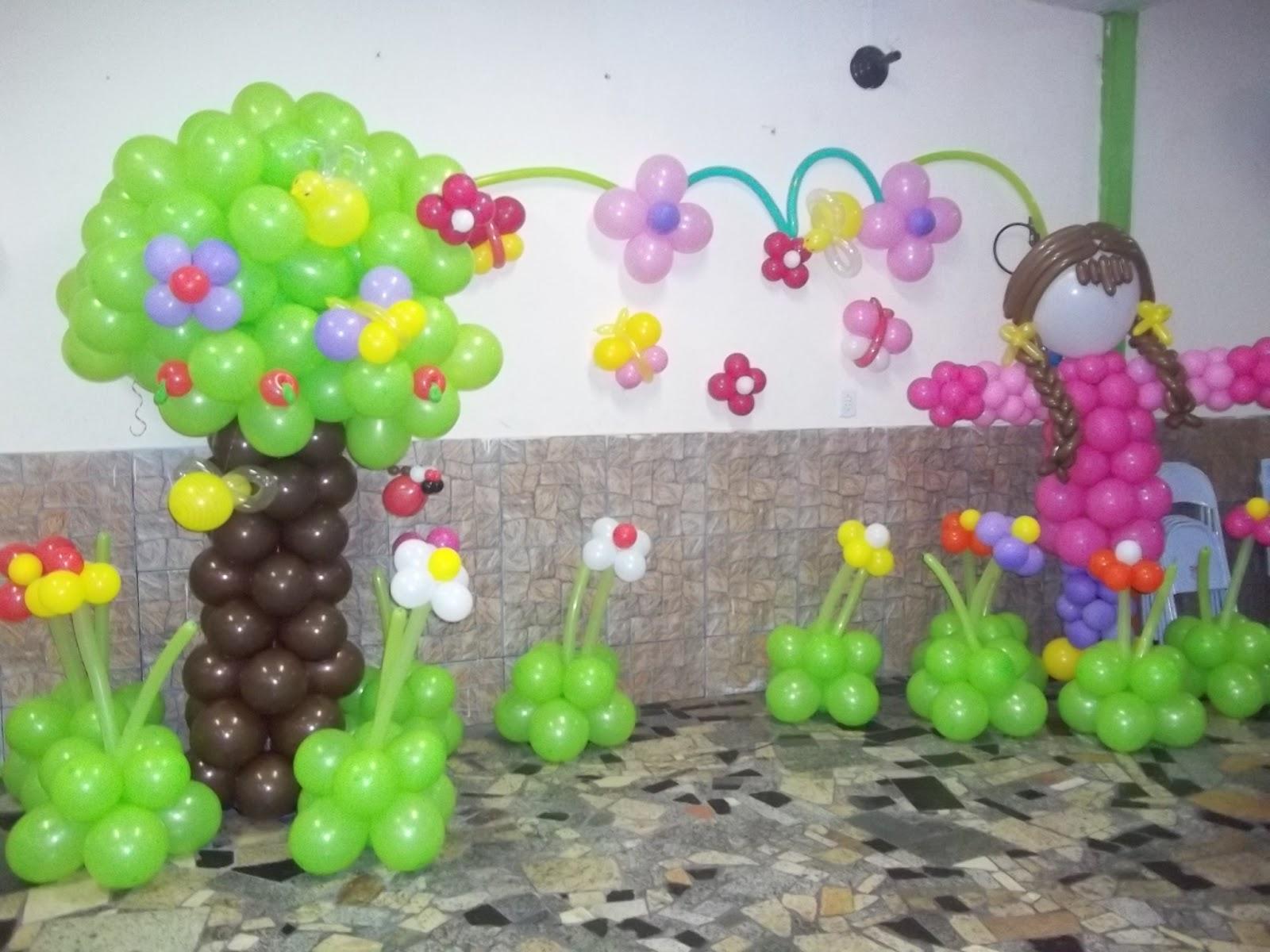 "decoracao de balões jardim encantado:Paraíso dos Balões ""Decoração E Balões"": Jardim encantado!"