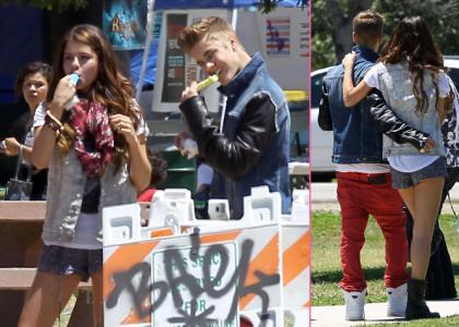 Justin Bieber & Selena Gomez's Romantic Lake Balboa Stroll » Gossip