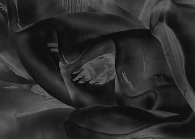 Low Value Sample:  from an original encaustic wax painting by Carol Trammel