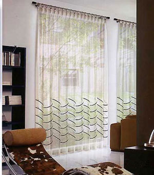 Modernas cortinas de interiores ideas para decorar for Cortinas interiores casa