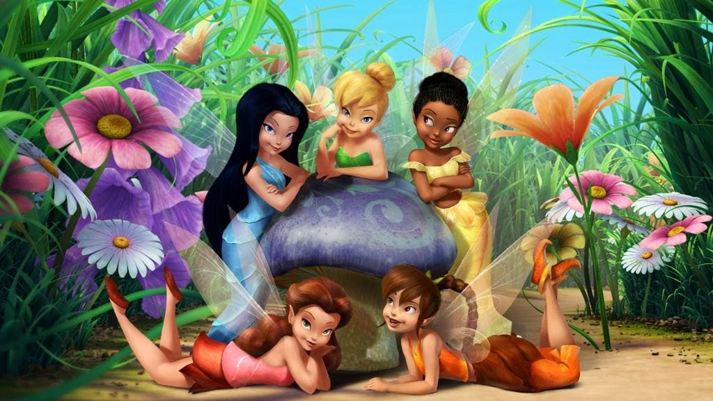 Wallpaper Tinkerbell and Friends