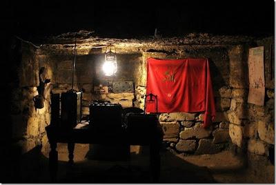 Las galerías subterráneas que albergaron a la guerrilla soviética durante la ocupación nazi de Odessa Catacumbas+odessa+guerrilla