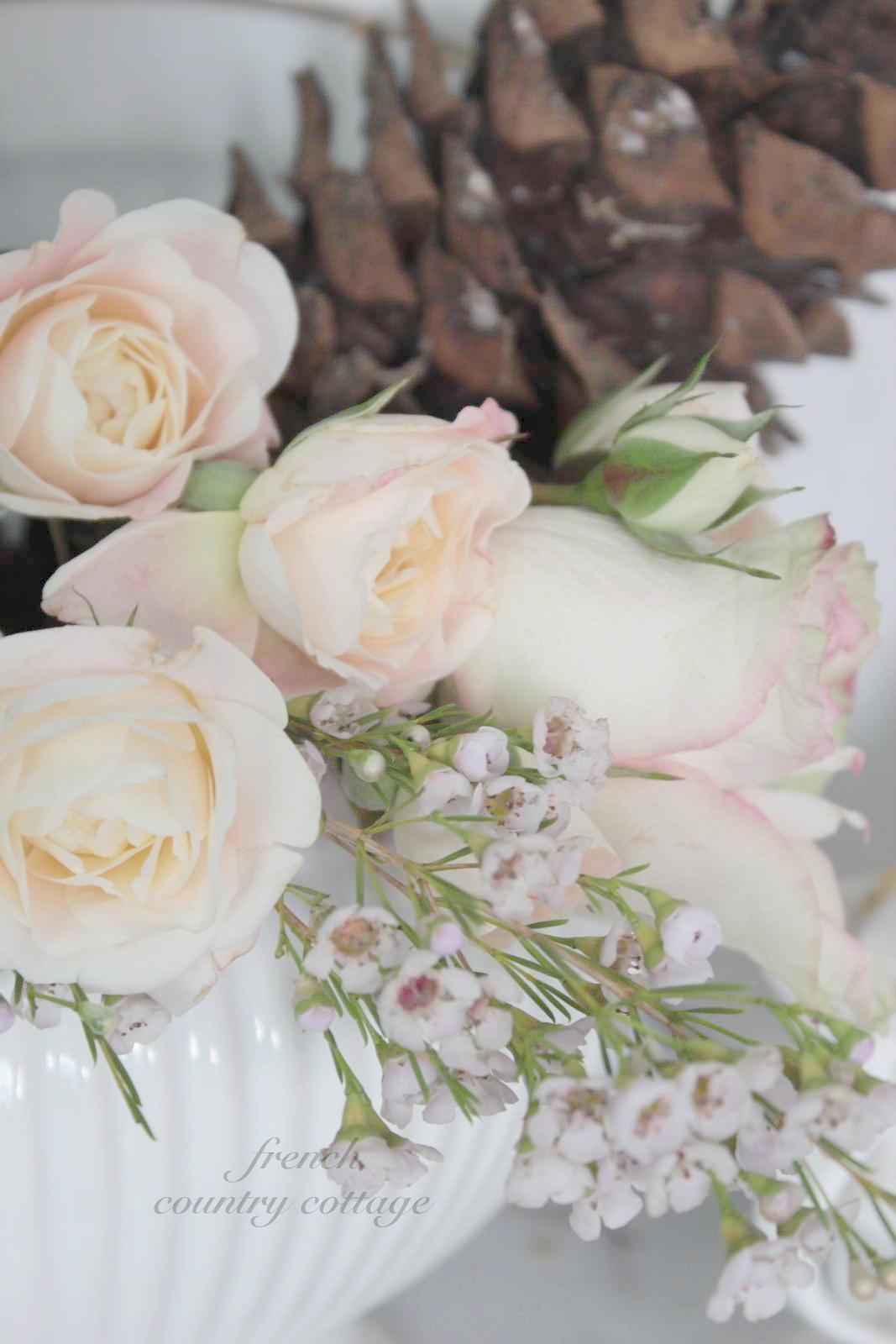 Wax flowers french country cottage wax flowers mightylinksfo
