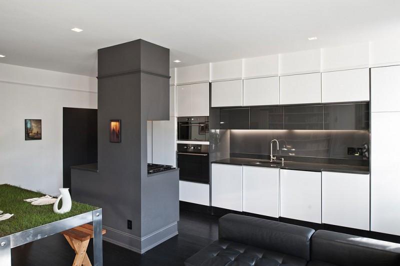 una original manera de separar la cocina del comedor On muebles para separar cocina comedor