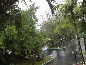 Weather in Bali today, rain all day, from evening, morning to evening