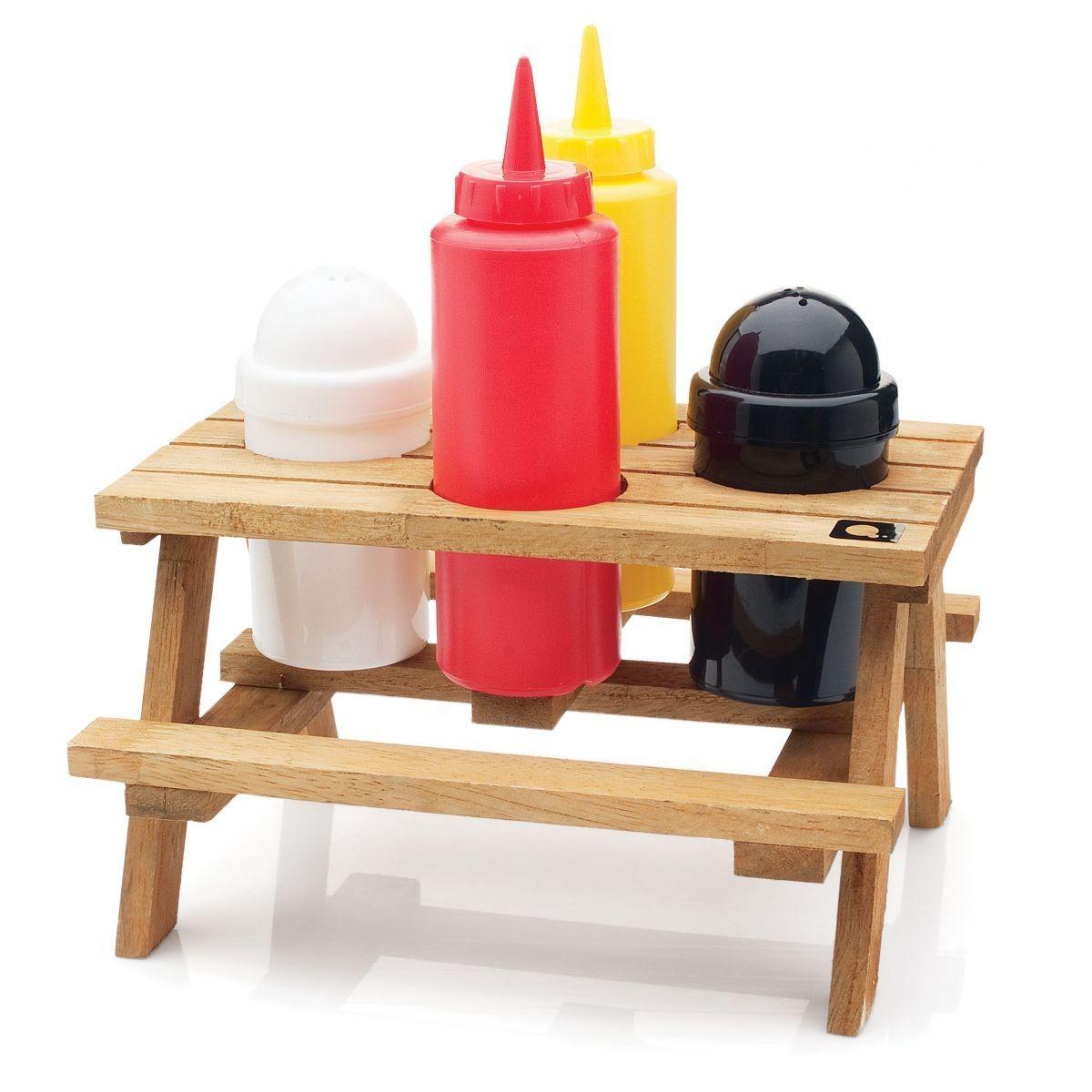 Dicas e variedades alimentos da moda for Porta ketchup