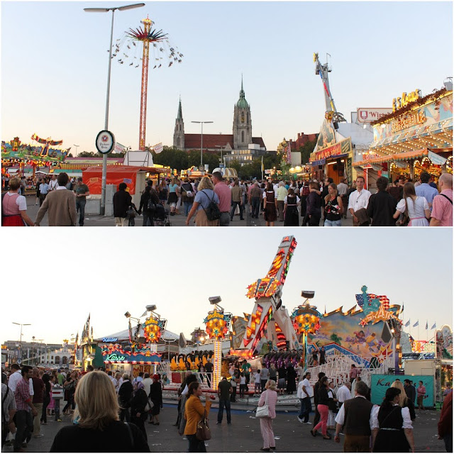 A huge Octoberfest funfair to be enjoyed at Munich, Germany