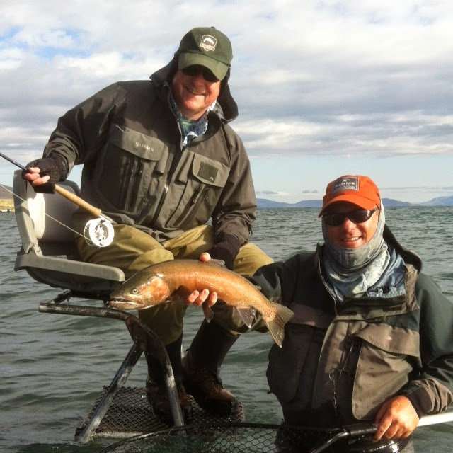 Northern Sierra Fly Fishing Pyramid Lake Report 4 23 14