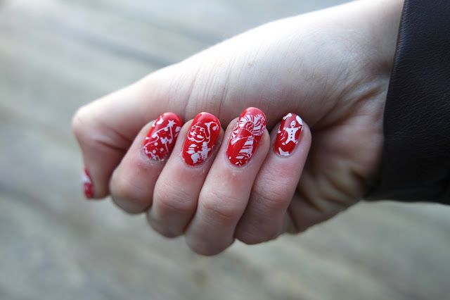 Christmas Nails with SensatioNail and MoYou