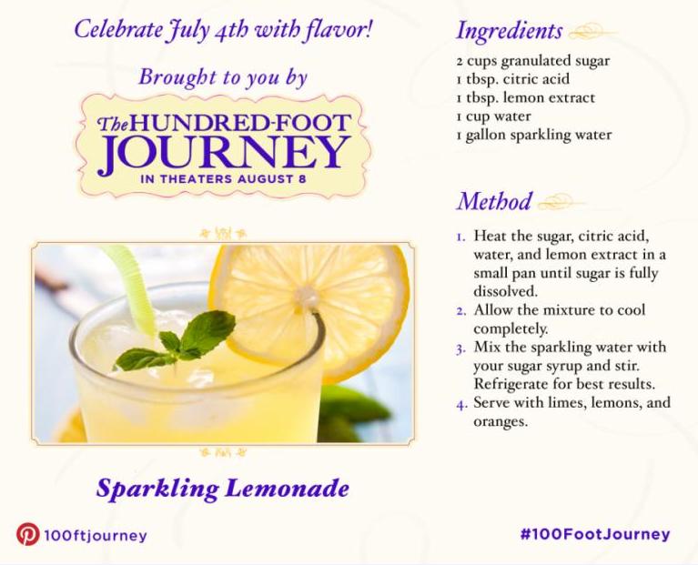 #FoodieFriday: Sparkling Lemonade
