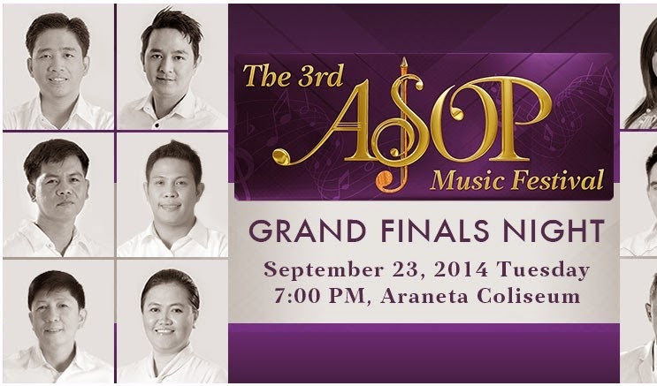 A Song or Praise Music Festival (ASOP) 2014 Grand Finals Night