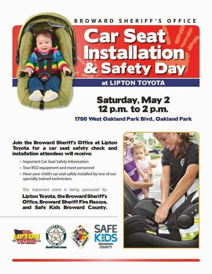 Lipton Toyota: Car Seat Installation and Safety Day at Lipton Toyota