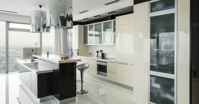 Casas minimalistas y modernas apartamento minimalista con for Casa minimalista roja