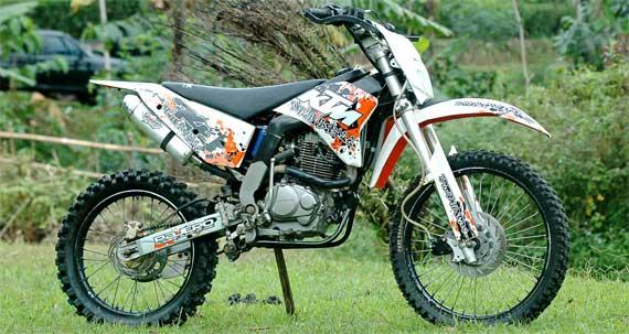 Honda Megapro Modif Trail
