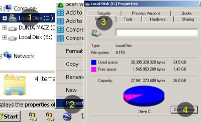 Check disk Harddisk
