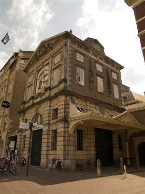 The Waag (Casa del Peso) de Leiden