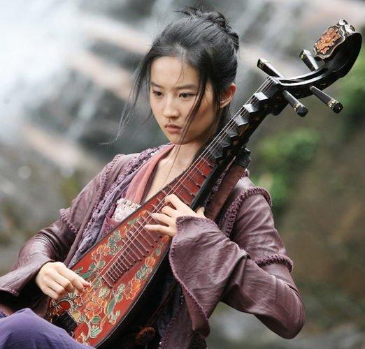 crystal liu yifei in forbidden kingdom photo 01