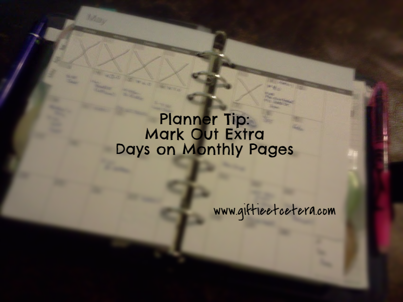 planner, monthly, planner tricks, planner tips and tricks