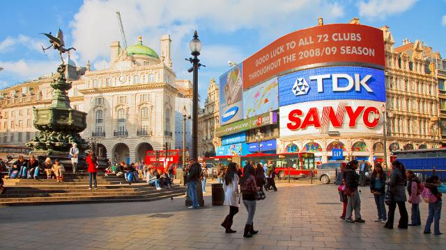 De visita en Londres