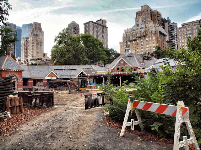 #TavernontheGreen Reconstruction, Central Park, New York City