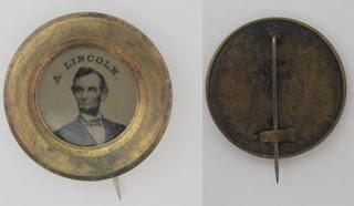 Chapa de 1864 de A. Lincoln