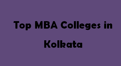 Top MBA Colleges in Kolkata 2014-2015