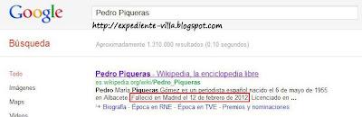 pedro piqueras muerto wikipedia