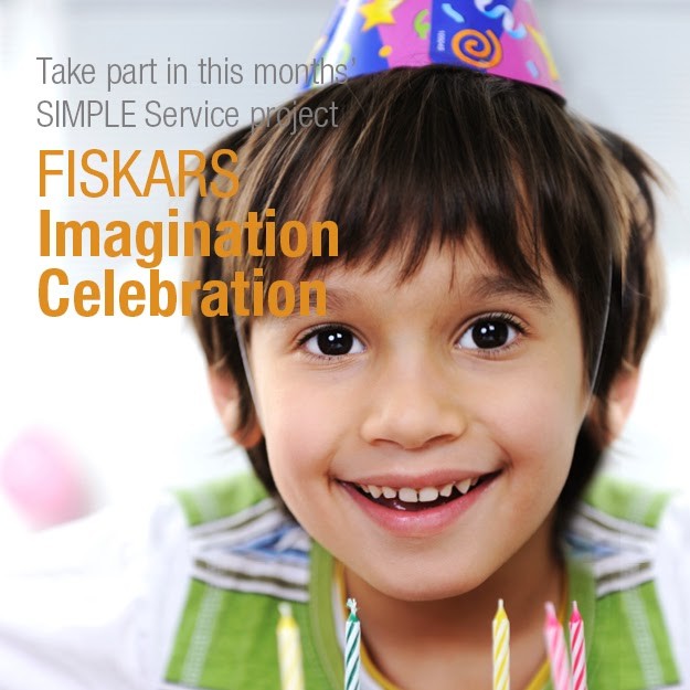 Champions for Kids with Fiskars Simple Service Project