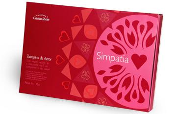 chocolates Cacau Show namorados Kit Simpatias