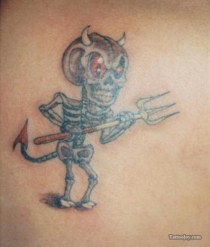 Tattoo Designs Devil: Cute Devil Tattoo
