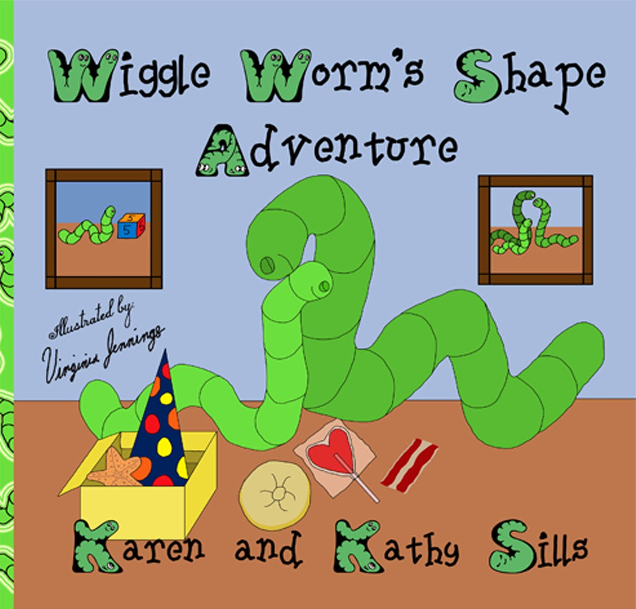 Wiggle Worm's Shape Adventure