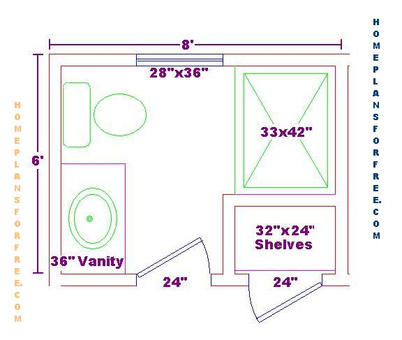 ... Bathroom Floor Plan likewise Bathroom Design Floor Plan. on small bath