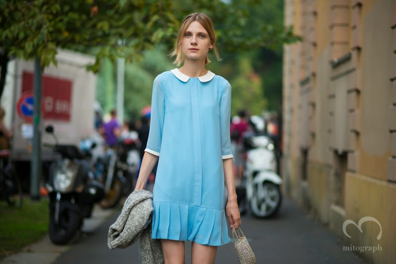 mitograph Maria Loks After Tods Milan Fashion Week 2014 Spring Summer MFW Street Style Shimpei Mito